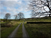 SK2078 : On track for Stanage House by Peter Barr