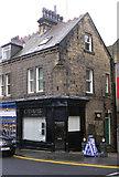 SE1039 : crowns barbers shop - Chapel Lane by Betty Longbottom