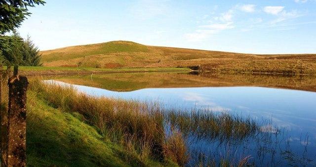 Doughnot Hill and Black Linn Reservoir