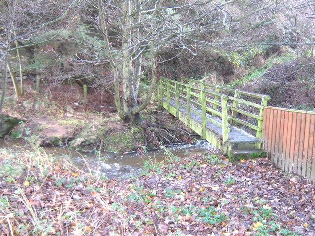 Footbridge over River Deerness County Durham