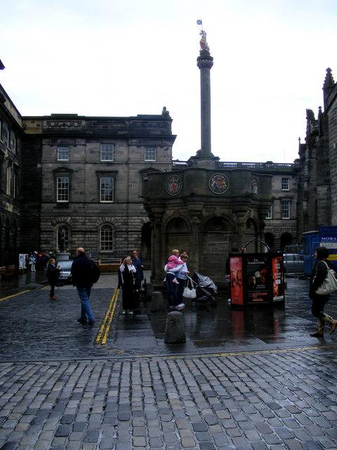 The Mercat Cross Edinburgh