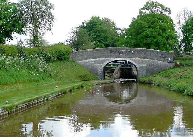 Shropshire Union Canal at Coxbank, Cheshire