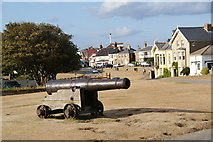 TM5075 : Gun Hill and South Green, Southwold by Bill Boaden