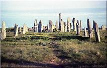 NB2133 : Callanish Stone Circle by Derek Voller