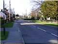 TM2972 : B1117 High Street, Laxfield by Geographer
