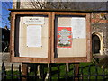 TM2972 : All Saints Church Notice Board by Adrian Cable