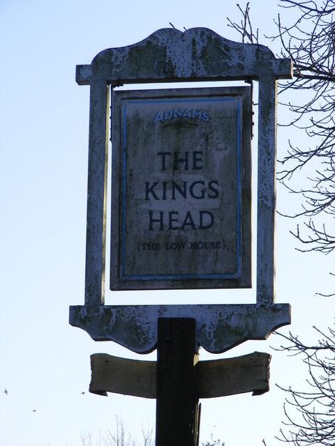 The Kings Head Public House Sign, Laxfield