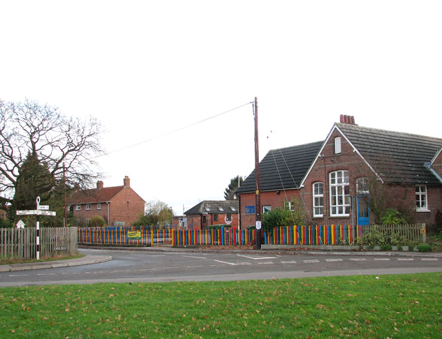 School Road/Green Lane/The Street junction