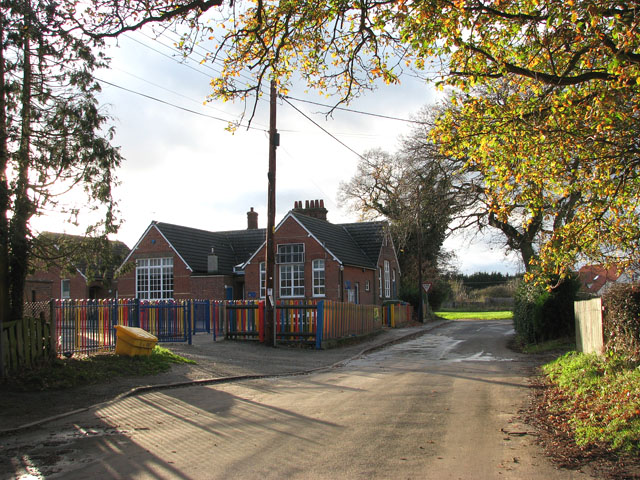 Tivetshall Primary School in School Road
