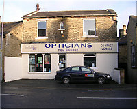 SE1734 : Glasses Plus Opticians - Dudley Hill Road by Betty Longbottom