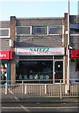 SE1734 : Nafeez Takeaway - Otley Road by Betty Longbottom