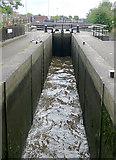 SJ8745 : Stoke Bottom Lock, Stoke-on-Trent, Staffordshire by Roger  Kidd