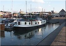 ST5772 : Marina, Bristol Harbour by Anthony O'Neil