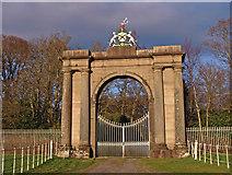 NS3586 : Gates, Rossdhu House by wfmillar