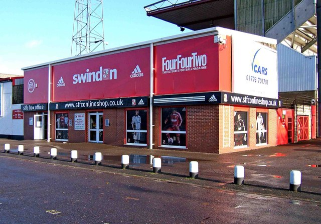 Swindon Town Football Club shop, The County Ground