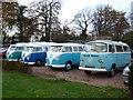 NT2772 : Volkswagen vans at Prestonfield House by kim traynor