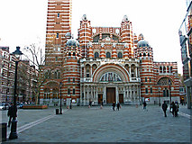 TQ2979 : Westminster Cathedral by Anthony O'Neil