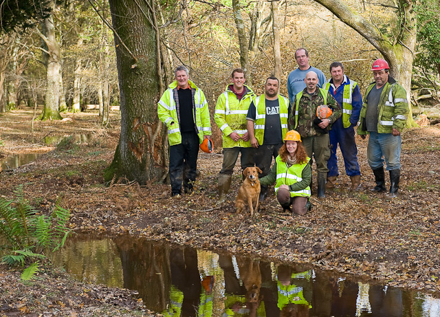 Warwickslade Cutting: the end of the project