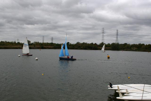 Sailing Lake at Stubbers