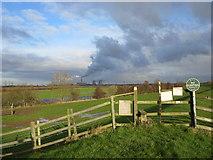 SK8174 : Footpath near the toll  bridge by Alan Heardman