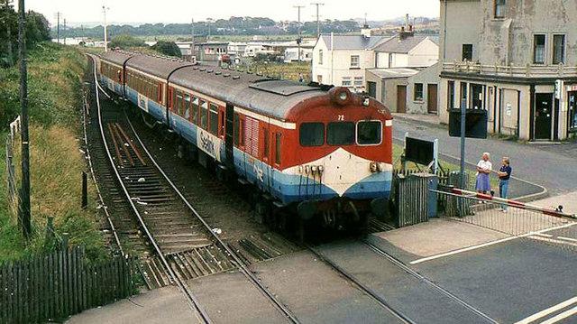 """""""Sealink"""" train, Castlerock"""