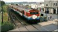 "C7735 : ""Sealink"" train, Castlerock by Albert Bridge"