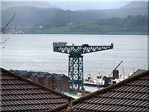 NS2975 : Titan crane at James Watt Dock by Thomas Nugent