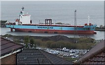 NS3075 : Maersk Maryland at The Great Harbour by Thomas Nugent