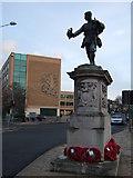 TL4557 : War Memorial on Hills Road, Cambridge by Richard Humphrey