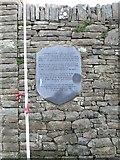 R1388 : Memorial plaque, Ennistymon by Eirian Evans
