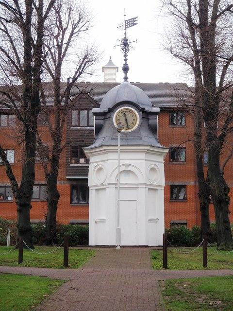 Clock tower, SW17