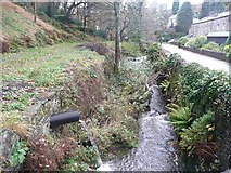 SE1407 : The River Ribble downstream of Dover Mills, Cartworth by Humphrey Bolton