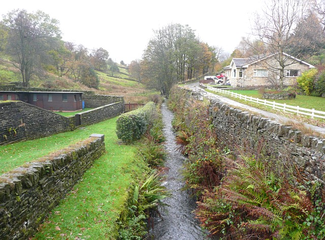 The River Ribble downstream of Dover Road, Cartworth
