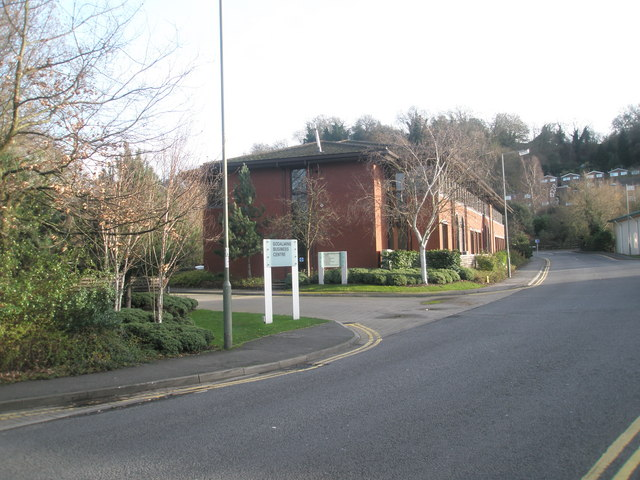 Approaching Godalming Business Centre