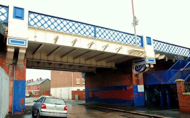 Tate's Avenue bridge, Belfast (1)