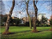 TQ2574 : King George's Park, Wandsworth by Derek Harper