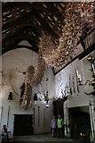 SX4268 : Cotehele House,  The  Christmas Garland by Adrian Platt