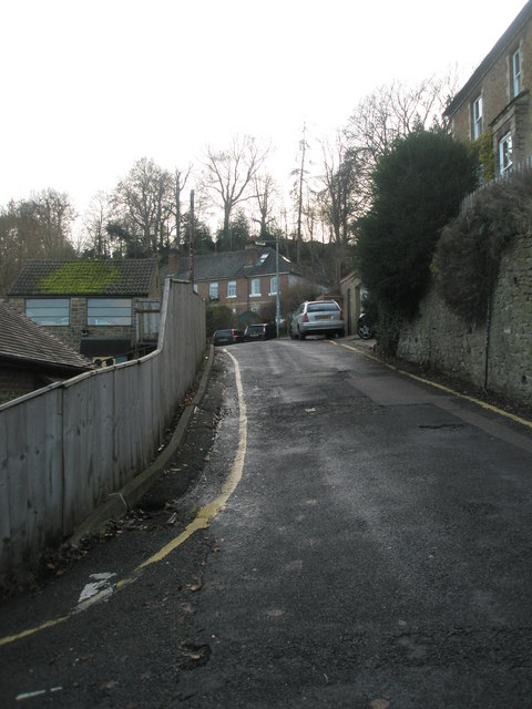 Looking from Carlos Street into Latimer Road by Basher Eyre