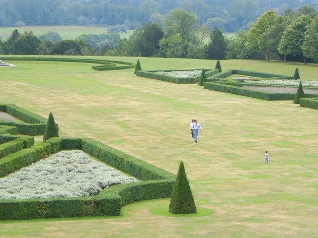 Garden  at Cliveden