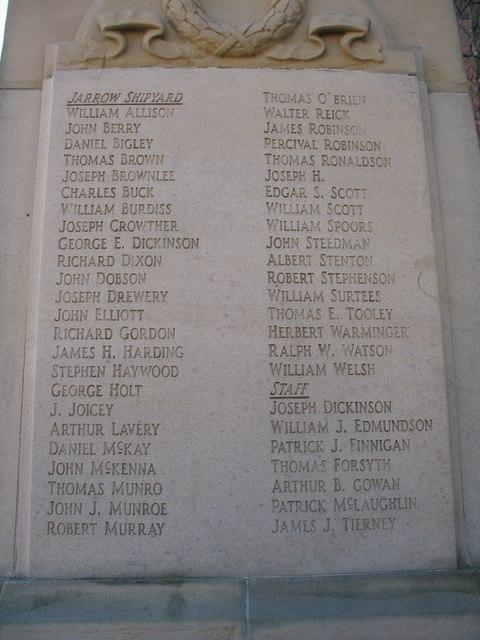 Palmers Cenotaph