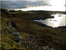 NM4257 : Laorin Bay from Dun Ara by David Baird