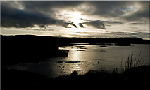 NM4257 : Sunset over Laorin Bay by David Baird
