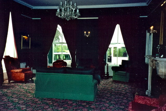 Castledaly Manor - Guest lounge on 1st floor