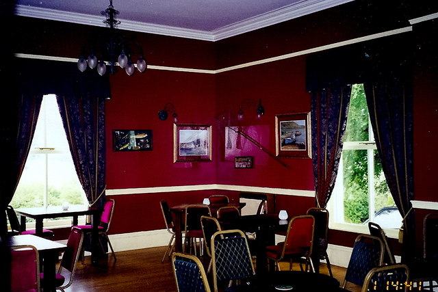 Castledaly Manor - Dining room on 1st floor