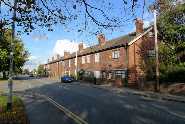 Cottages on Wilmslow Road