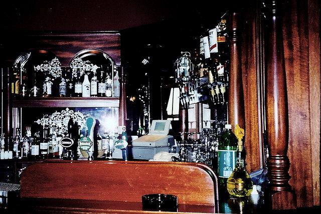 Castledaly Manor - Bar on 1st floor