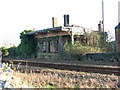 TG1704 : Hethersett station (derelict) by Evelyn Simak