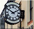 J3652 : Clock, Ballynahinch (1) by Albert Bridge