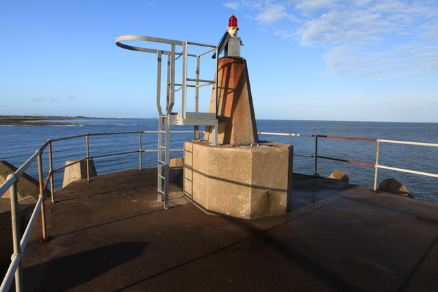 Navigation Beacon at Torness Harbour