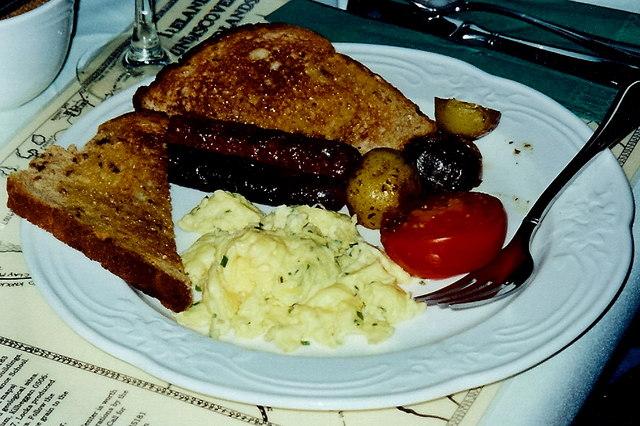 Castledaly Manor - Full Irish breakfast